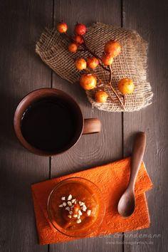 orange & wooden tones