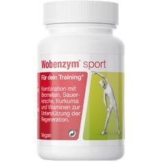 WOBENZYM sport gastro-resistant capsules 30 pc UK Montmorency Cherry, Vitamins For Energy, Bodybuilding Supplements, Vegan, Physical Activities, Turmeric, Physics, Training, How To Get