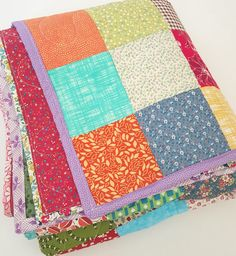 quilts Classic Americana Patchwork bed Quilt by secondsanctuary