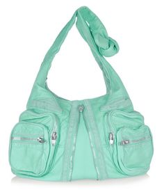 """Alexander Wang impresses with minty fresh bags - PurseBlog- """"I'm in love I'm in love and I dont care who knows it!"""""""