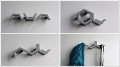 COAT HOOK - Functional patterns by Fritz Specht, via Behance