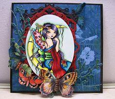 Sweet Pea Stamps: ching-chou kuik's Fantasy Art Collection- Sheet #11