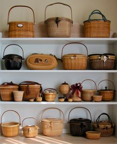 Nantucket Baskets I made                                                                                                                                                                                 More