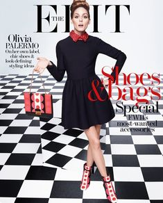 """Channeling Audrey Hepburn in """"Breakfast at Tiffany's"""", Olivia Palermo is sixties chic for the latest cover story from The Edit. The style blogger wears 196"""