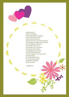 Festa della mamma filastrocca con cornice parole in rima pinterest cornices - Rima con finestra ...