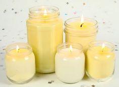Orange, grapefruit, Lime Essential Oil Candles