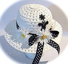 Tea Hats, Tea Party Hats, Summer Hats, Spring Hats, Hat Decoration, Girls Tea Party, Holiday Hats, Flower Hats, Fascinator Hats