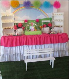 baby tv party Birthday Party Ideas | Photo 6 of 9 | Catch My Party