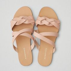 Bass Scarlett Sandal ($98) ❤ liked on Polyvore featuring shoes, sandals, pink, pink shoes, american eagle outfitters shoes, rose pink shoes, pink sandals and rose shoes