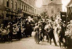 Krisztinaváros, Roham utcai piac Budapest, Hungary, Old Photos, Austria, The Past, Street View, Landscapes, Times, Summer