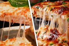 Homemade Chicken Parm Pizza