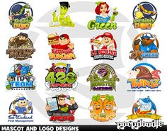 Check out this great digital service on Envato Studio: Cartoon Logo Design by Rockdoodle for $250