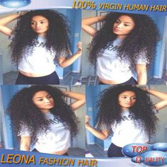 New Fashion Malaysian kinky curly wig middle part 100% Indian virgin human hair u part wig for black women on sale FREE SHIPPING US $105.00 - 228.00