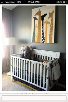 My son needs that giraffe painting!!!