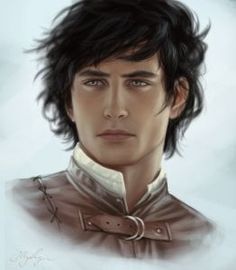 This is how I see Merik from TruthWitch. Maybe with a little bit of stuble. I love him and how he cares so much for his threadbrother