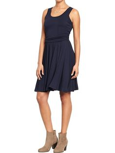 Women's Sleeveless Jersey Dresses Product Image