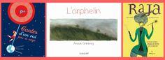 Pollet, Grace, Avril, Album, French, Books, Orphan, Storytelling, King