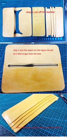 tutorial for long wallet leather Not for sell! tutorials hand made tutorials hand stitched tutorial wallet patterns