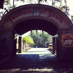The Fountain Of Youth Archaeological Park in St. Augustine, FL
