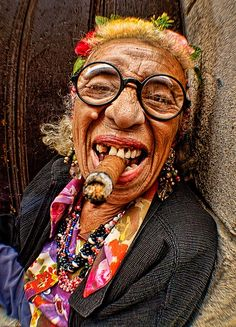 Cigar Woman of Old Havana by John Galbreath