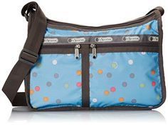 LeSportsac Deluxe Everyday Handbag, Litho Dot Blue, One Size *** See this great image @