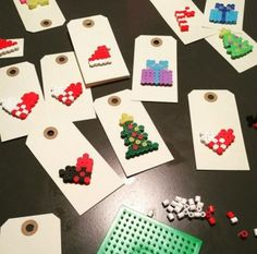Bilderesultat for perler jul 1st Christmas, Christmas Crafts, Christmas Ornaments, Diy And Crafts, Arts And Crafts, Paper Crafts, 1st Grade Crafts, Diy For Kids, Crafts For Kids