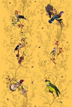 Timorous Beasties Fabric - Birds n Bees