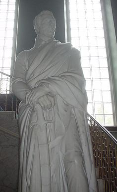 Thomas Campbell sculpture of Wellington (Dalkeith place)