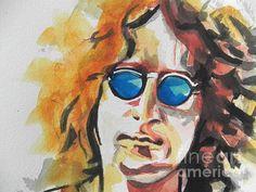 John Lennon 03 by Chisann Ellis #John #Lennon #musician