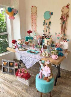 Ideas para tu fiesta bohemia Girl Birthday, Birthday Cake, Look Boho, Boho Girl, Childrens Party, Ideas Para, Baby Shower, Diy, Party