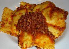The Mugello potato tortelli with meat sauce - I tortelli di patate mugellani al sugo di carne - 055Firenze