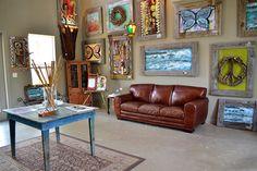 Artist Andy Saczynski Art Gallery Grayton Beach Florida Seaside 30A  30a GRAYTON BEACH, FLORIDA ·