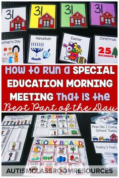 How to Run the Best Special Education Morning Meeting! If morning meeting or whole group activities have ever intimidated you as a special . Speech Therapy Activities, Group Activities, Autism Activities, Autism Classroom, Classroom Resources, Classroom Ideas, Autism Resources, Morning Meeting Activities, Morning Meetings