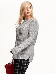 985ff3c5574 Find a great selection of plus-size sweaters at Old Navy. Elevate everyday  looks with chic women s plus-size sweaters.