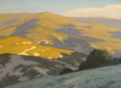 Northern Hill of Sonoma by Brian Blood Oil ~ 18 x 24