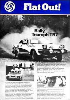 Triumph TR7 Triumph Car, Van Car, Coaches, Old Cars, Cars And Motorcycles, Rally, Race Cars, British, Vans