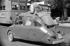 car ride in Athens :p Kai, Old Fashioned Cars, Athens Greece, Small Cars, Amazing Destinations, Transportation, Automobile, Funny Pictures, Bike