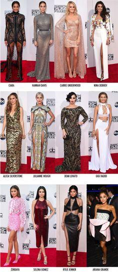 OS LOOKS DO AMERICAN MUSIC AWARDS 2015 - Fashionismo