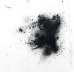 "Saatchi Art Artist klaudia medano; Drawing, ""SE 35/density of nothingness"" #art"