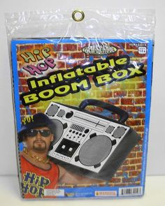 Oversized Inflatable Boom Box