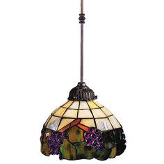 Elk Lighting Mini-Pendant Light with Multi-Color Glass | 238-VA | Destination Lighting