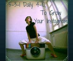 WHAT DOES THAT MEAN?  It is code for GET BUSY on Instagram. These are the steps on Instagram to gain more targeted followers. Set aside a few min a day, say 3 times a day, morning, noon, evening to follow these simple steps and watch your followers grow.