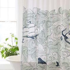 Elisa Cachero Odyssey Shower Curtain - BestProducts.com