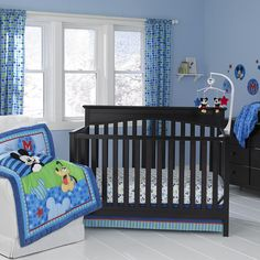 MICKEY MOUSE Best Friends 3-Piece Crib Bedding Set