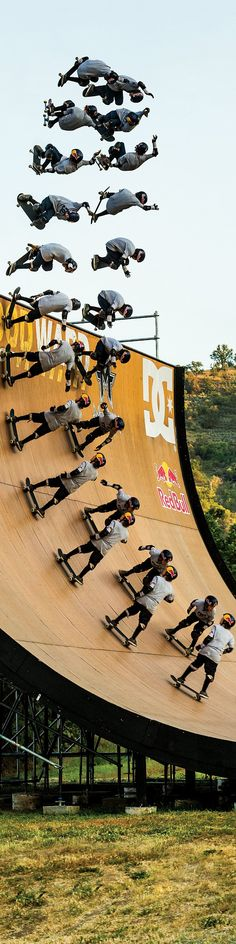 Tom Schaar in action. #redbull #skateabording........ Woahhhhh!!!! Gnarly dude!!! Lol