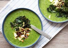 Grønkålssuppe - opskrift på lækker grøn og sund suppe med grønkål