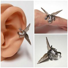 Teeny tiny mini-dragons that cling to ears and fingers, for the Khaleesi in all of us