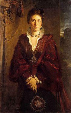 Crown Princess Victoria, formerly Princess Victoria of Great Britain.