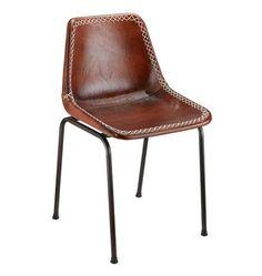 Leather Schoolhouse Chair | Rejuvenation