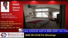 2 bedroom home in Peekskill for sale  https://gp1pro.com/USA/NY/Westchester/Peekskill/RiverBend/227_Highridge_Ct.html  Call 845-591-8136 | www.AbijahsHomes.com Abijah Spence: I give FREE HOMEBUYER Consultations Any Real Estate Agent can get you thrown into home, with me thats not my only objective. Why Hire Me? Because my main objective is to get you situated in a home that meets your needs as well as your budget. Most Agents dont care whether or not if you can afford the home youre buying…